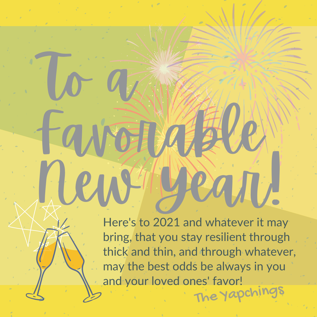 To A Favorable New Year!